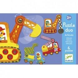 Puzzle Duo - Articulo Vehicles