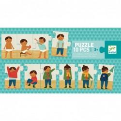 Puzzle - I am dressing up
