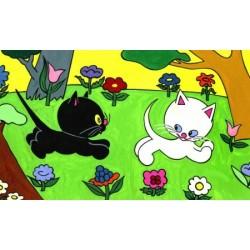 Cikicakk, a fekete cica
