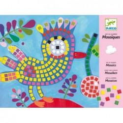 Mozaik - Bird and ladybird