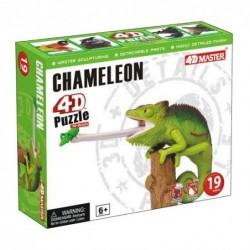 4D Puzzle - Kaméleon