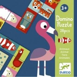 Domino Puzzle - Állatok
